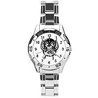 Motorhead ブリティッシュポップバンド腕時計 メンズ ステンレス ビジネス ファッション 合金