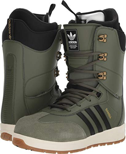 adidas Men's Samba Snowboard Boots Base Green 2019 (9.5 D US)