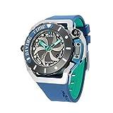 MAZZUCATO マッツカート 腕時計 メンズ リム スキューバ オートマチック 48mm 自動巻き ブルー/グレー MAZZUCATO R.I.M. SUB03-BL3255【国内正規品】