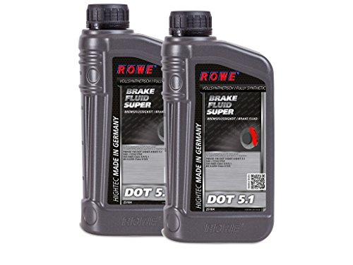 2 (2x1) Liter ROWE HIGHTEC BRAKE FLUID SUPER DOT 5.1