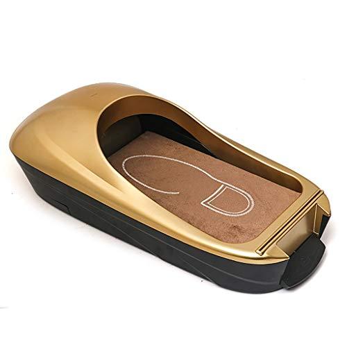 ZYFXZ Dispensador de Cubierta de Zapatos automático, Cubierta de Zapato de película Transparente, plástico ABS + Fibra de Carbono, para hogar, Tienda, Oficina, artículos para el hogar
