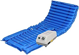 REWD Anti-Decubitus Mattress, Meridian Alternating Pressure Mattress with Electric Pump - Bed Sore Prevention and Hospital Bed Air Mattress,The Airbag is Removable and Easy to Clean (Color : A)