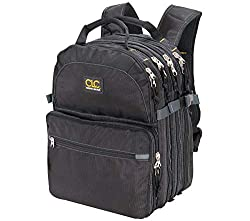 CLC 75 pocket tool backpack