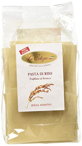 Le Celizie Lasagne di Riso, Pacco da 250 gr, Senza glutine