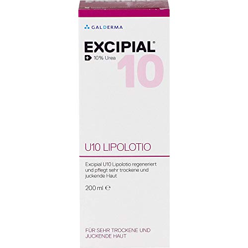 EXCIPIAL U10 Lipolotio für sehr trockene und juckende Haut, 200 ml Lotion