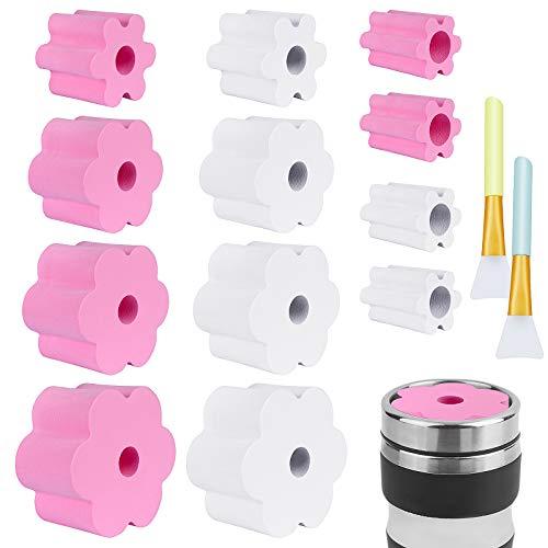 Hysagtek 14Pcs Cup Turner Foam Set, 12pcs Tumbler Turner Foam for 1/2 Inch...