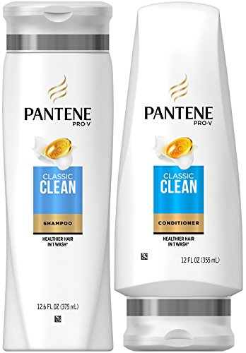 Pantene Pro-V Classic DUO Set, Classic Clean Shampoo + Classic Care Conditioner, 12.6 Ounce, 1 each
