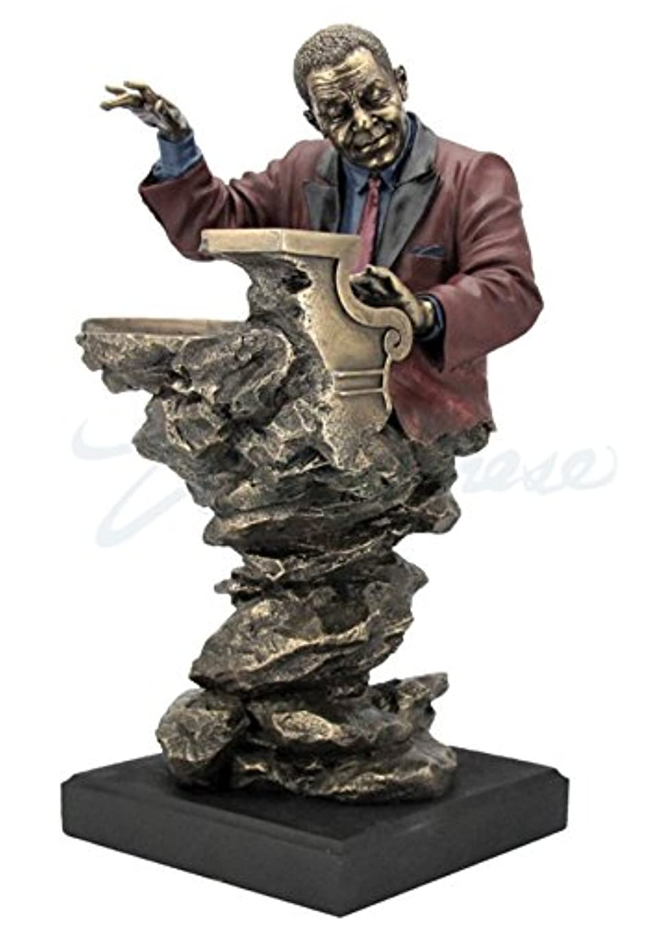 Artistic Piano Player Statue Sculpture - Jazz Band Collection