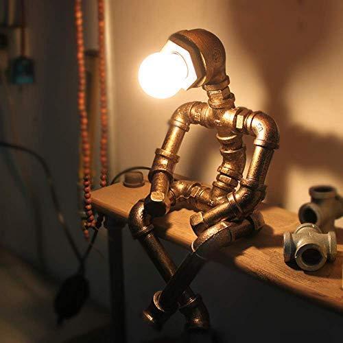 Hai Ying Tafellamp voor keukenmachine, gemaakt van ijzer, creatief, energiebesparend, retro-led, voor bars, restaurant, koffie, E27-interface