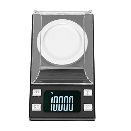 Escala de joyería Mini escala digital de bolsillo LCD de alta precisión 0.001g para monedas para farmacia(20g/0.001g)