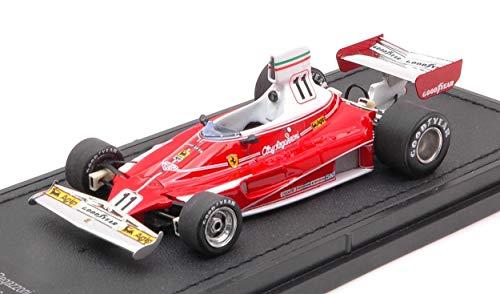GP REPLICAS Modelo A Escala Compatible con Ferrari F1 312T N.11 1975 Clay REGAZZONI 1:43 GP43-004B