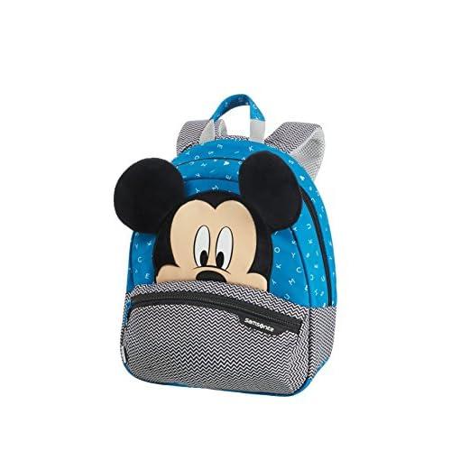 Samsonite Disney Ultimate 2.0 Zainetto per Bambini, 28.5 cm, 7 L, Blu (Mickey Letters), S, Multicolore (Mickey Letters)