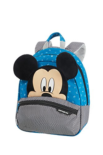 Samsonite Disney Ultimate 2.0 - Kinderrucksack S, 28.5 cm, 7 L, Blau (Mickey Letters)