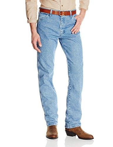 Wrangler Men's 13MWZ Cowboy Cut Original Fit Jean, Antique Wash, 38W x 32L