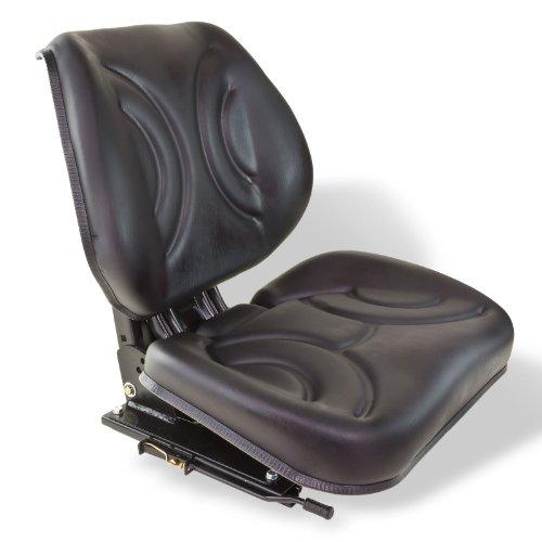 DEMA Traktorsitz schwarz ohne Armlehne 11BCS