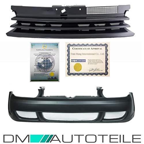 DM Autoteile Golf 4 IV 1J1 Stoßstange vorne R32 Look + Kühlergrill ohne Emblem 97-06 ABS