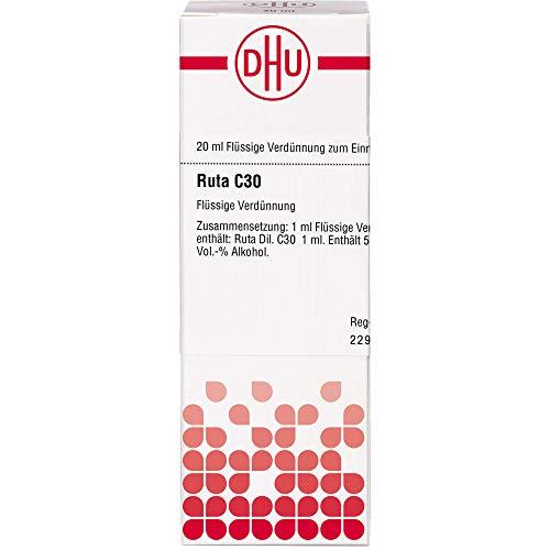 DHU Ruta C30 Dilution, 20 ml Lösung