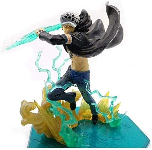 XXSDDM-WJ Regalo One Piece: Trafalgar Law (Trafalgar D Water Law) Super Guild Wars Version - Figura de PVC de 7 4 Pulgadas LHE144