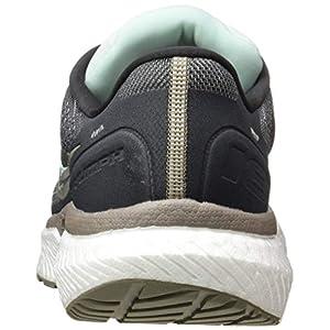 Saucony Women's S10595-40 Triumph 18 Running Shoe, Charcoal/Sky - 8.5 M US