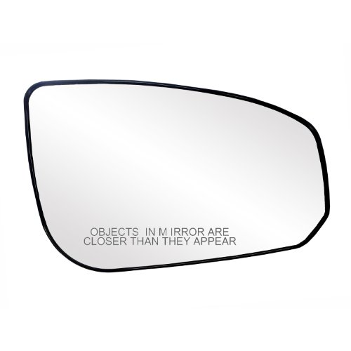 Fit System 80190 Nissan Maxima Right Side Power Replacement Mirror Glass with Backing Plate