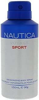 Nautica Voyage Sport Man Deodorizing Body Spray, 150 ml