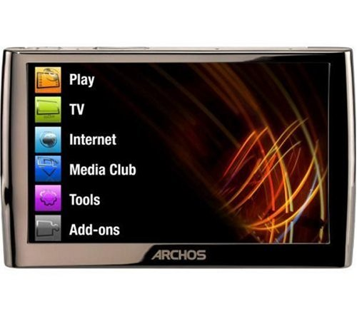 ARCHOS 5 Internet Media Tablet 60 GB Slim (tragbarer Media-Player/WiFi / 12,2 cm (4,8 Zoll) Touchscreen)