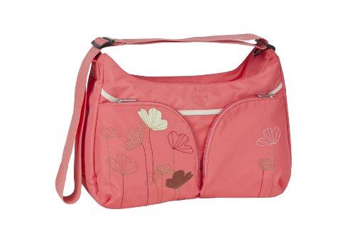 LÄSSIG Baby Wickeltasche Babytasche Stylische Tasche inkl. Wickelzubehör/Basic Shoulder Bag Poppy