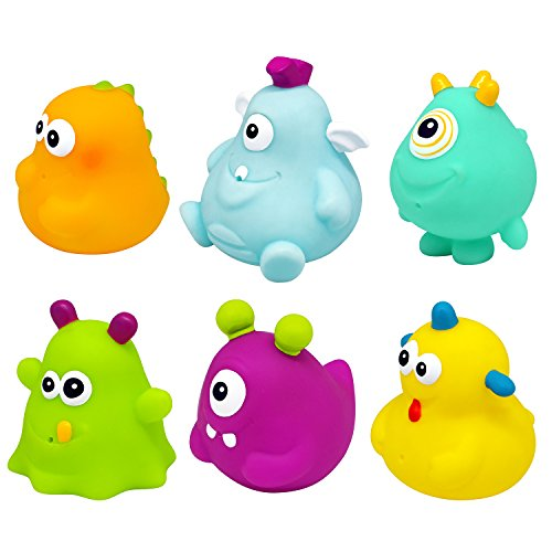 Knorrtoys Knorr Toys Knorr37028 Happy Monster Figurines de Bain (Lot de 6)