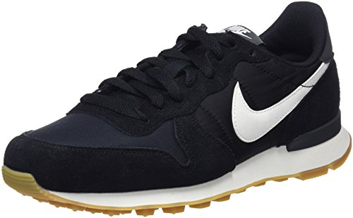 Nike Internationalist, Zapatillas Mujer, Negro (Black/Summit White-Anthracite-Sail 021), 40.5 EU
