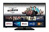 homeX UA55FT5505 Fire TV - 55 Zoll Fernseher (4K UHD, HDR, Alexa Sprachsteuerung, Triple-Tuner) [Modelljahr 2021]