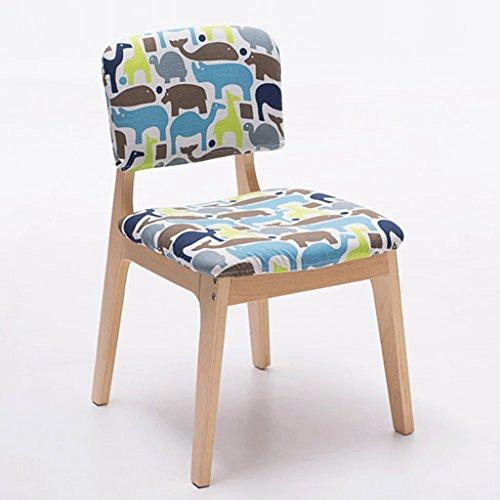 Fauteuils Chaise à Manger en Bois Massif Chaise en Bois créative Chaise à la Mode et Chaises (Couleur : B)