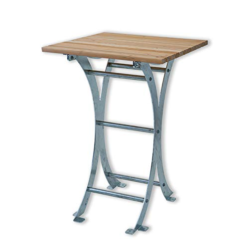Stehtisch Forst 75 aus Holz und Metall - massiv für den Garten | Holztisch, Massivholztisch, Esstisch, Tisch