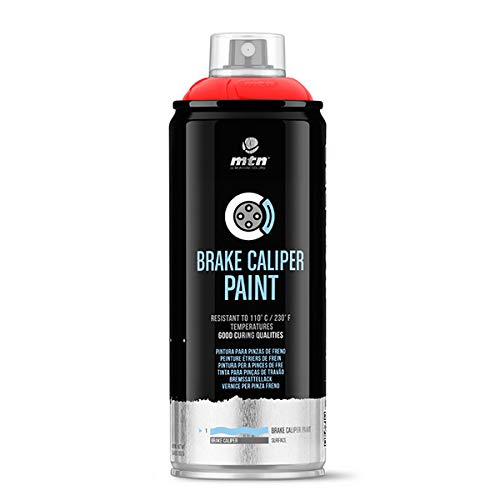 Montana Colors MTN Pro Pintura Pinzas de Freno-Rojo, Spray 4