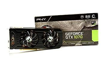 Pny GeForce GTX 1070 8GB XLR8 Gaming Overclocked Edition VCGGTX10708XGPB-OC-BB