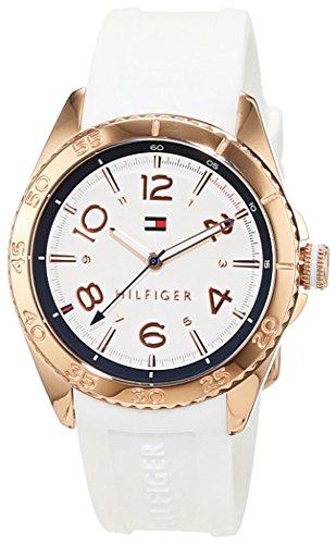 Tommy Hilfiger Damen-Armbanduhr Everyday Sport Analog Quarz Silikon 1781636