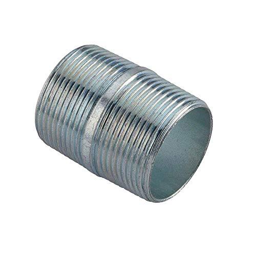 Conduit Nipple (Galvanized Steel) for Rigid Conduit and Intermediate Metallic Conduit (IMC) (1.5 in. long, 1/2 in. diameter) (25-pack)