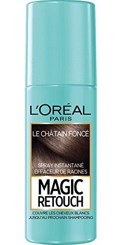 professionnel comparateur L'Oréal Paris Instant Collector Spray, Cheveux et Racines Gris, Retouche Magique, Châtaigne… choix
