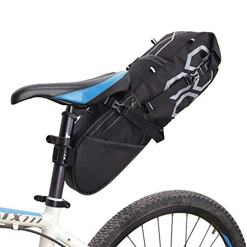 N/C Sacoche de vélo étanche pour vélo 12 l, Sacoche noire, 65*15.5*14CM