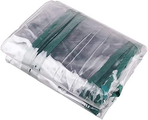 T、T?SUN ビニール温室 PVCビニールハウス ガーデン温室 組立簡単 簡易温室 花園温室 ガーデン 温室カバー ホーム温室 フラワースタンド 家庭菜園 折りたたみ 防水 抗UV ガーデンラック (替えカバーのみ)