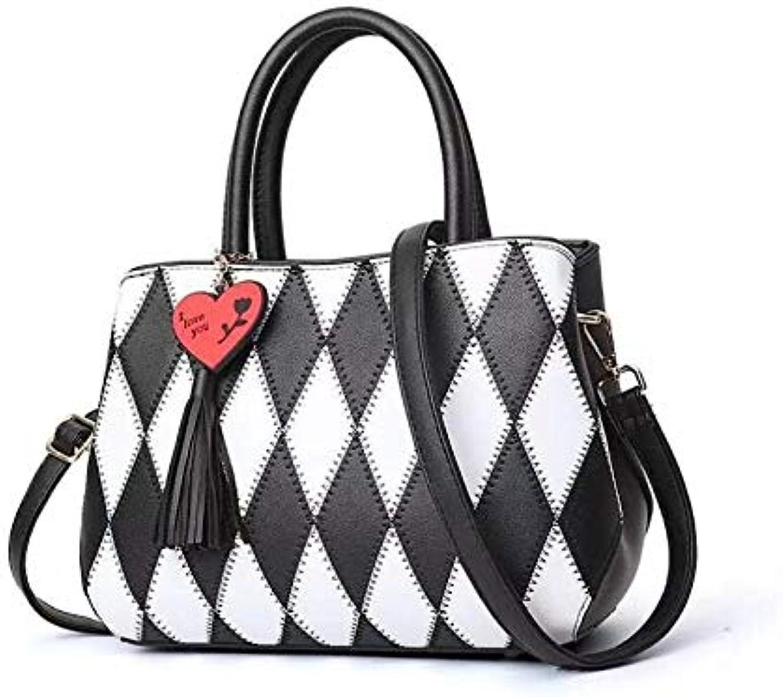 Taschen Neue Europa und Amerika wild Umhängetasche Lingge Mode Handtaschen Handtaschen B07QFMWK3Y  Youzi Produkte