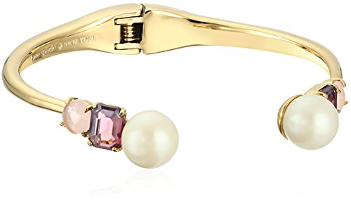 Kate Spade New York Open Hinged Pink Cuff Bracelet