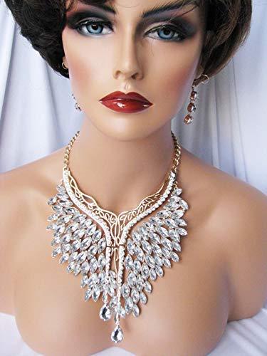 Max 58% OFF EleganceWithFlair OVERSIZED LARGE Max 84% OFF Chunky Style Neckl Fashion Bib