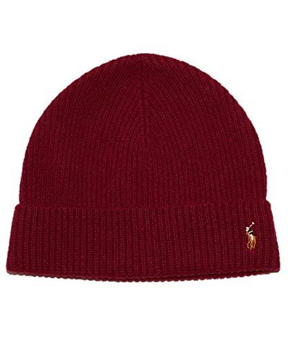 Polo Ralph Lauren Signature Merino Wool Beanie - Nomadic Red