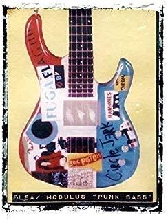 Flea Bass Guitar art print Red Hot Chili Peppers