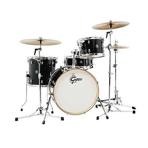 Gretsch CT1-R444 Catalina Club 4 Piece Shell Pack, Piano Black