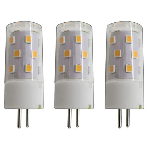 3x stuk - dimbare A++ G9 / G4 / GU4 / G6.35 / GX6.35 LED 5 Watt warm wit 2800K A++ 12V ~ AC/DC wisselspanning 360 ° penfitting lamp lamp sokkel spot halogeen lamp niet dimbaar (G9 / GU4 / G6.35 / GX6.35)