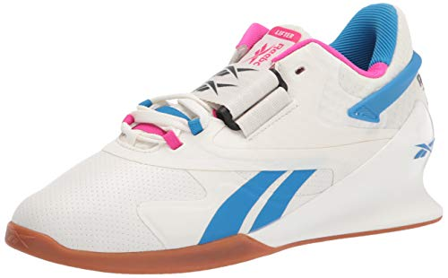 Reebok womens Legacy Lifter II,chalk/Proud Pink/Horizon Blue,7 M US
