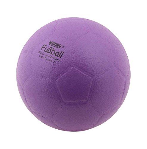 Volley ELE Fußball - Softball - 180 mm - 145 Gramm - Gut springend - Lila