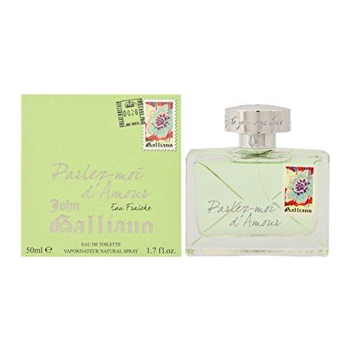 JOHN GALLIANO Parlez Moi D Amour Eau Fraiche 50 ml, 1er Pack (1 x 50 ml)