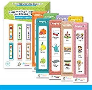 Preschool Kindergarten Reading Flash Cards - Learn Alphabet, Numbers, Colors, Shapes, Foods, Seasons, Weekdays, Months, Fe...
